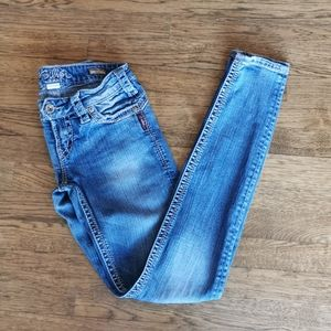 Silver Jeans Distressed Camden Rose Skinny Jeans